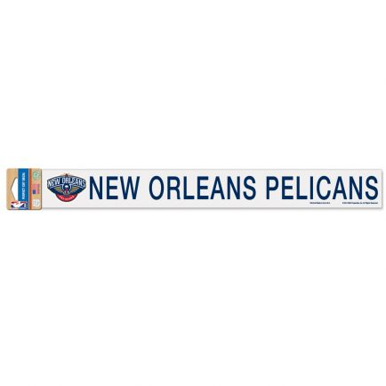"""New Orleans Pelicans Perfect Cut Decals 2"""" x 17"""""""