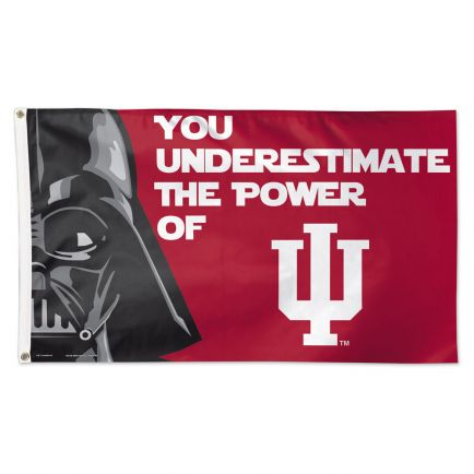Indiana Hoosiers / Star Wars darth vader Flag - Deluxe 3' X 5'