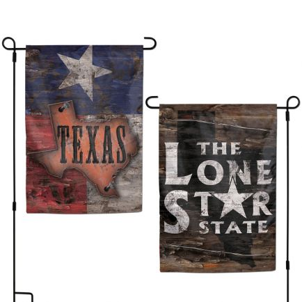 """State / Texas Garden Flags 2 sided 12.5"""" x 18"""""""