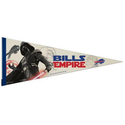 "Buffalo Bills / Star Wars Vader Premium Pennant 12"" x 30"""