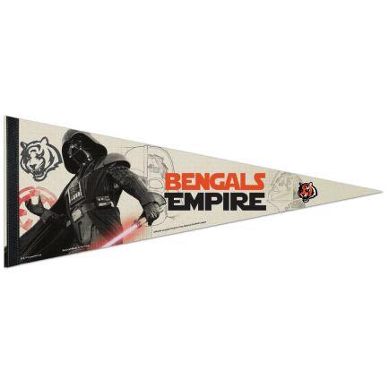 "Cincinnati Bengals / Star Wars Vader Premium Pennant 12"" x 30"""
