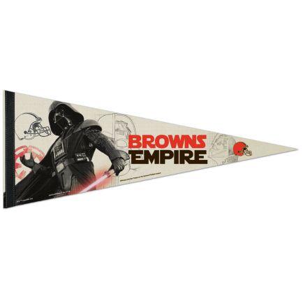 "Cleveland Browns / Star Wars Vader Premium Pennant 12"" x 30"""
