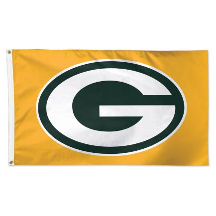 Green Bay Packers Gold Flag - Deluxe 3' X 5'