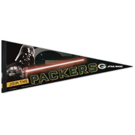 "Green Bay Packers / Star Wars Vader Premium Pennant 12"" x 30"""