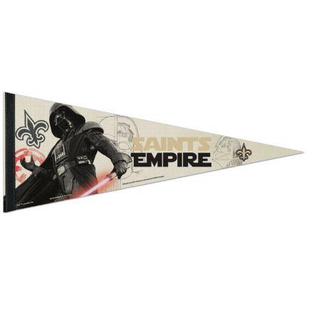 "New Orleans Saints / Star Wars Vader Premium Pennant 12"" x 30"""