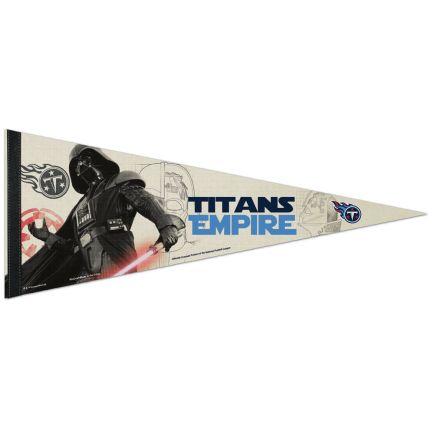 "Tennessee Titans / Star Wars Vader Premium Pennant 12"" x 30"""
