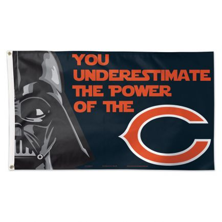 Chicago Bears / Star Wars Darth Vader Flag - Deluxe 3' X 5'