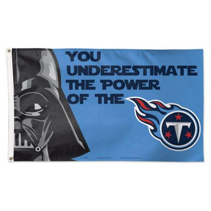 Tennessee Titans / Star Wars Darth Vader Flag - Deluxe 3' X 5'