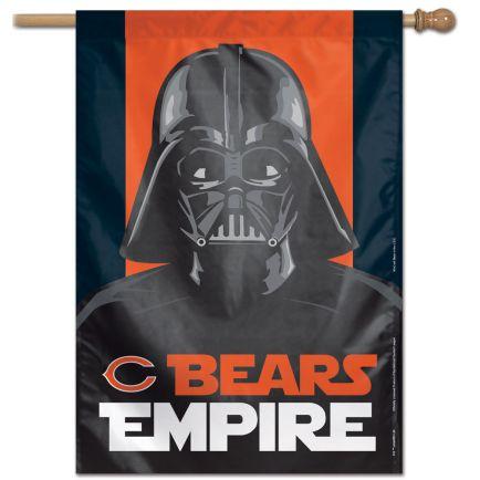 "Chicago Bears / Star Wars Vader Vertical Flag 28"" x 40"""
