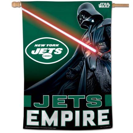 "New York Jets / Star Wars Darth Vader Vertical Flag 28"" x 40"""