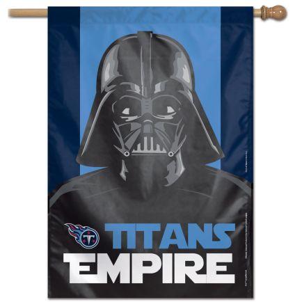 "Tennessee Titans / Star Wars Vader Vertical Flag 28"" x 40"""
