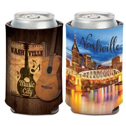City / Tennessee NASHVILLE Can Cooler 12 oz.
