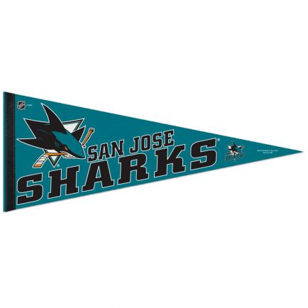 "San Jose Sharks Classic Pennant, carded 12"" x 30"""