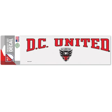 "D.C. United Perfect Cut Decals 3"" x 10"""