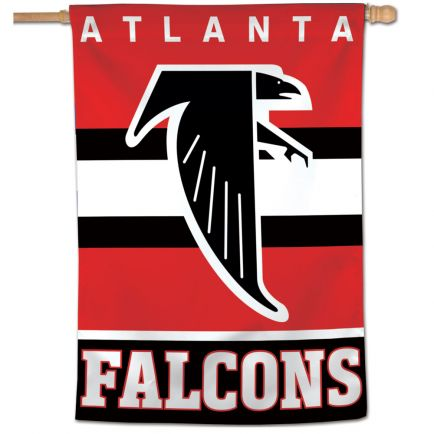 "Atlanta Falcons / Classic Logo Retro Vertical Flag 28"" x 40"""