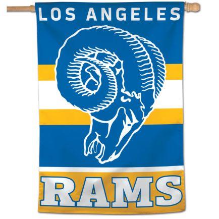 "Los Angeles Rams / Classic Logo Retro Vertical Flag 28"" x 40"""