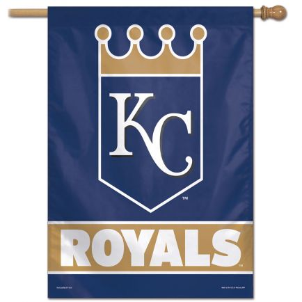 "Kansas City Royals Vertical Flag 28"" x 40"""