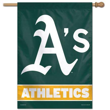 """Oakland A's Vertical Flag 28"""" x 40"""""""