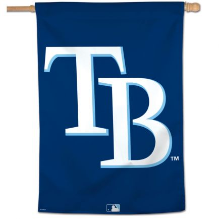 """Tampa Bay Rays Vertical Flag 28"""" x 40"""""""
