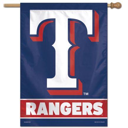 "Texas Rangers Vertical Flag 28"" x 40"""