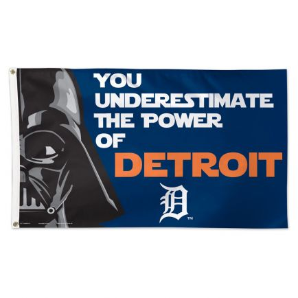 Detroit Tigers / Star Wars Darth Vader Flag - Deluxe 3' X 5'