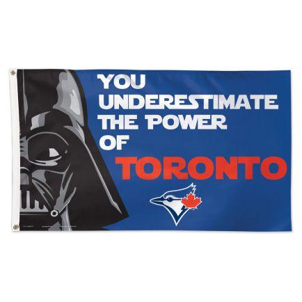 Toronto Blue Jays / Star Wars Darth Vader Flag - Deluxe 3' X 5'