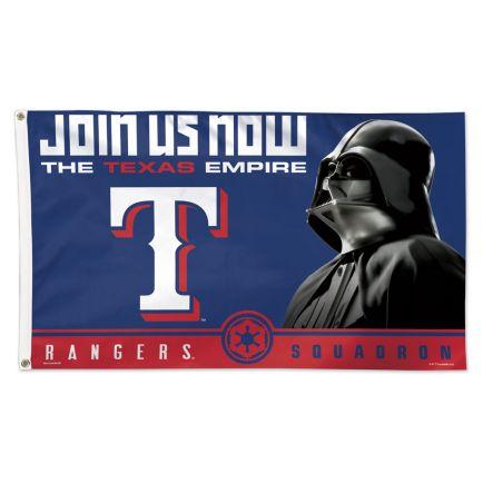 Texas Rangers / Star Wars vader Flag - Deluxe 3' X 5'
