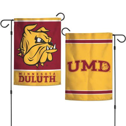"Minnesota Duluth Bulldogs Garden Flags 2 sided 12.5"" x 18"""