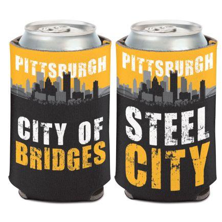 City / Pennsylvania PITTSBURGH Can Cooler 12 oz.