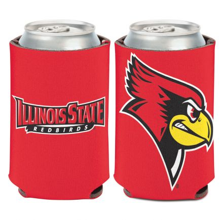Illinois State Redbirds TWO COLOR Can Cooler 12 oz.