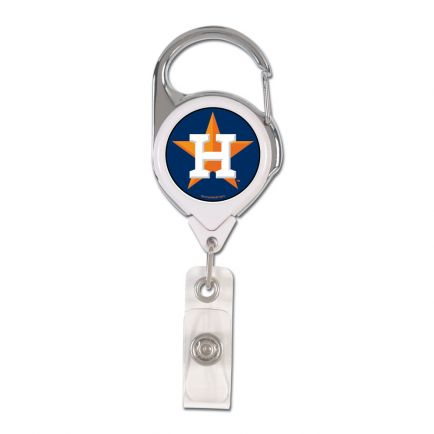 Houston Astros Retrct 2S Prem Badge Holders