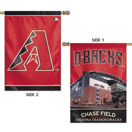 "Arizona Diamondbacks Vertical Flag 2 Sided 28"" x 40"""
