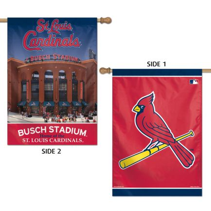 "St. Louis Cardinals Vertical Flag 2 Sided 28"" x 40"""