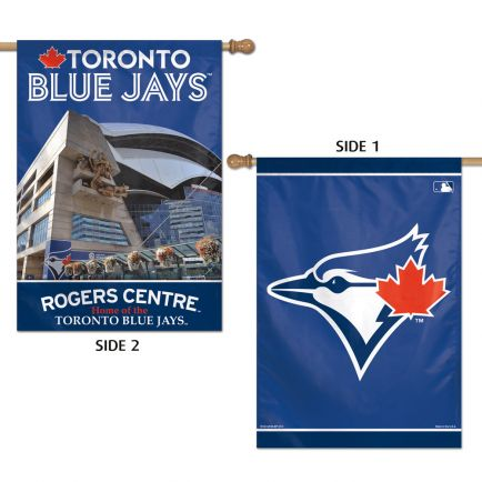 "Toronto Blue Jays Vertical Flag 2 Sided 28"" x 40"""