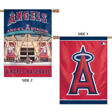 "Angels / Stadium MLB Vertical Flag 2 Sided 28"" x 40"""