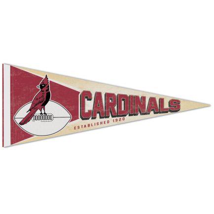 """Arizona Cardinals / Classic Logo RETRO Premium Pennant 12"""" x 30"""""""