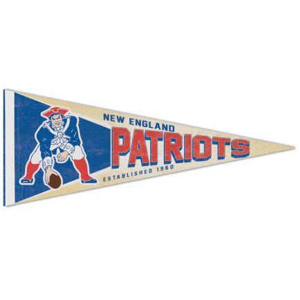 """New England Patriots / Classic Logo RETRO Premium Pennant 12"""" x 30"""""""