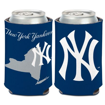New York Yankees STATE SHAPE Can Cooler 12 oz.