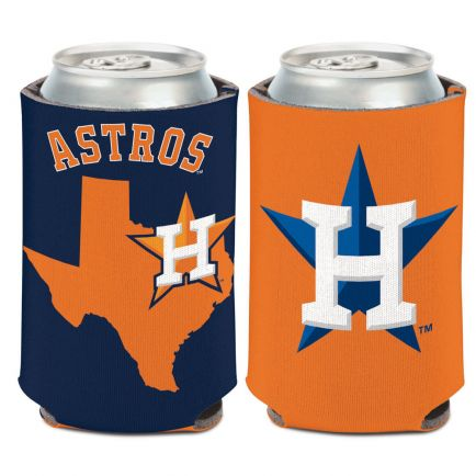 Houston Astros STATE SHAPE Can Cooler 12 oz.