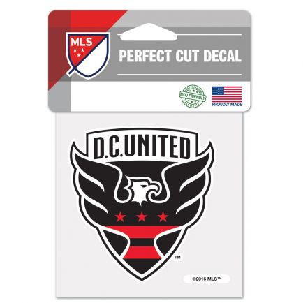 "D.C. United Perfect Cut Color Decal 4"" x 4"""