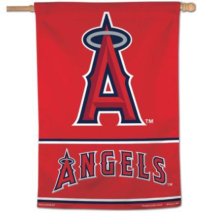"Angels Wordmark Vertical Flag 28"" x 40"""