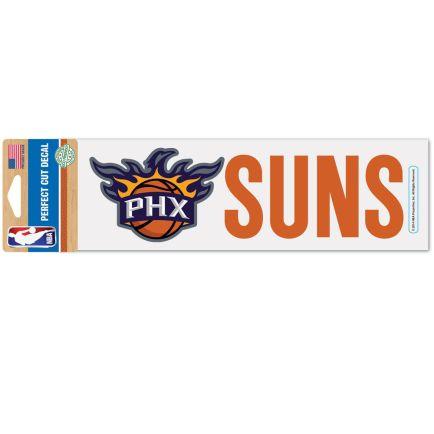 "Phoenix Suns Perfect Cut Decals 3"" x 10"""