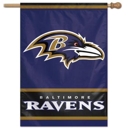 "Baltimore Ravens Vertical Flag 28"" x 40"""