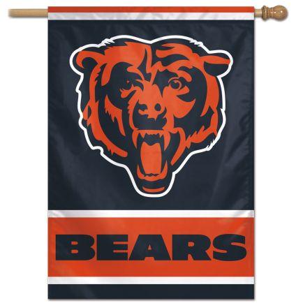 """Chicago Bears Vertical Flag 28"""" x 40"""""""