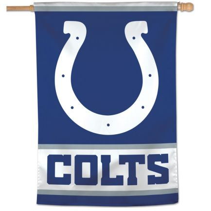 "Indianapolis Colts Vertical Flag 28"" x 40"""