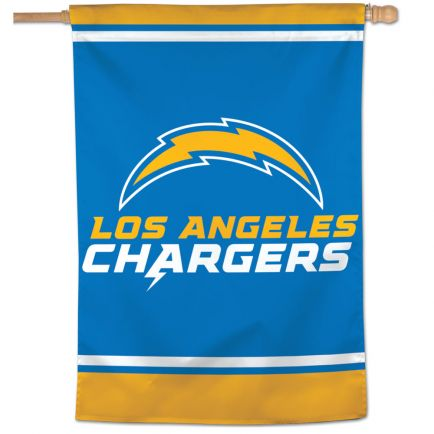 "Los Angeles Chargers Vertical Flag 28"" x 40"""
