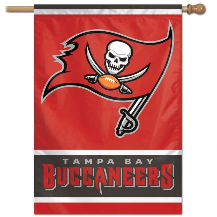 "Tampa Bay Buccaneers Vertical Flag 28"" x 40"""