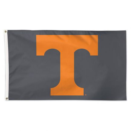 Tennessee Volunteers GRAY BACKGROUND Flag - Deluxe 3' X 5'