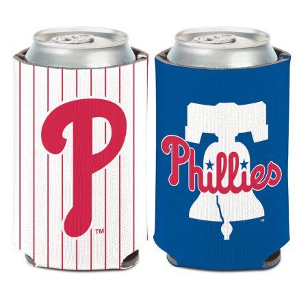 Philadelphia Phillies 2 Color Can Cooler 12 oz.