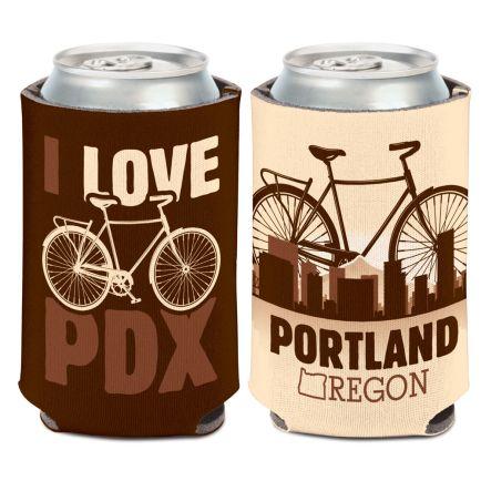 City / Oregon PORTLAND Can Cooler 12 oz.